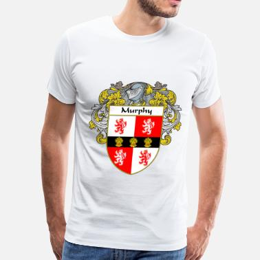 Family Crest murphy_coat_of_arms_mantled - Men's Premium T-Shirt