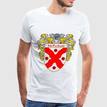 mcfarland_coat_of_arms_mantled - Men's Premium T-Shirt