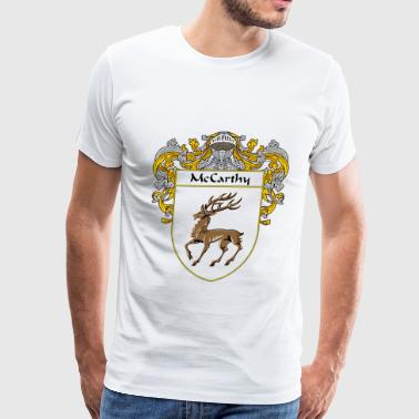 mccarthy_coat_of_arms_mantled - Men's Premium T-Shirt