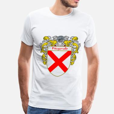 Surname fitzgerald_coat_of_arms_mantled - Men's Premium T-Shirt