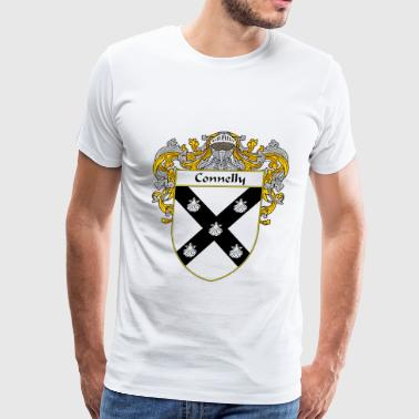 Connelly connelly_coat_of_arms_mantled - Men's Premium T-Shirt