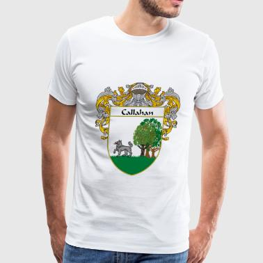 callahan_coat_of_arms_mantled - Men's Premium T-Shirt