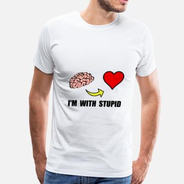 Stupid Heart Stupid Heart - Men's Premium T-Shirt