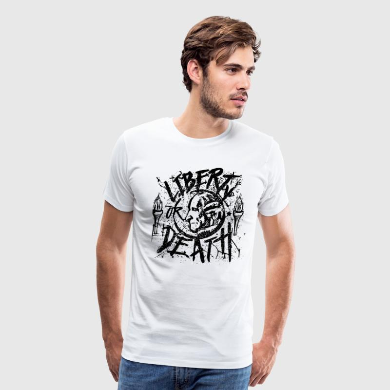Patrick Henry - Liberty or Death - Men's Premium T-Shirt