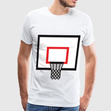 basketball backboard - Men's Premium T-Shirt
