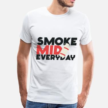 Csgo Smoke Mid Everyday Smoke Mid Everyday CS:GO Red - Men's Premium T-Shirt