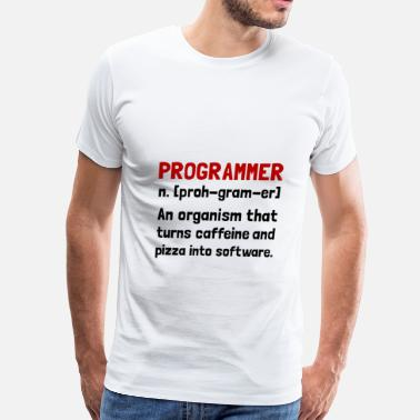 Programmer Mugs & Programmer Definition - Men's Premium T-Shirt