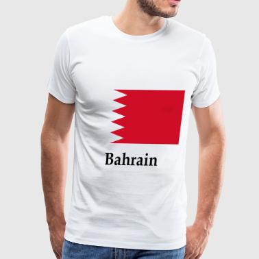 Bahrain Flag - Men's Premium T-Shirt
