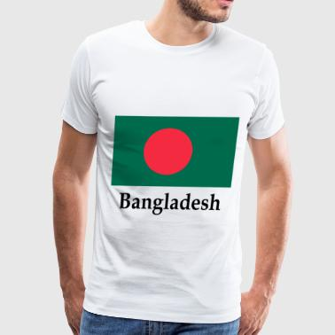 Bangladesh Flag - Men's Premium T-Shirt