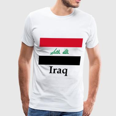 Iraq Flag - Men's Premium T-Shirt