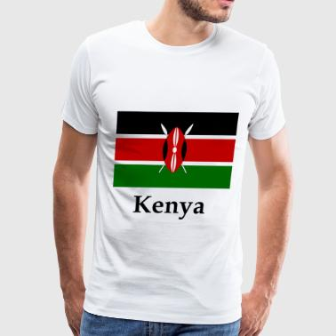 Kenya Flag - Men's Premium T-Shirt