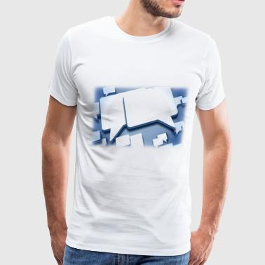 chat - Men's Premium T-Shirt