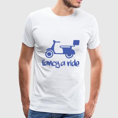 Fancy a ride - Men's Premium T-Shirt
