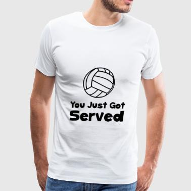 Volleyball Served - Men's Premium T-Shirt