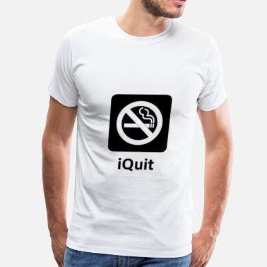 Anti-smoking iQuit Smoking - Men's Premium T-Shirt