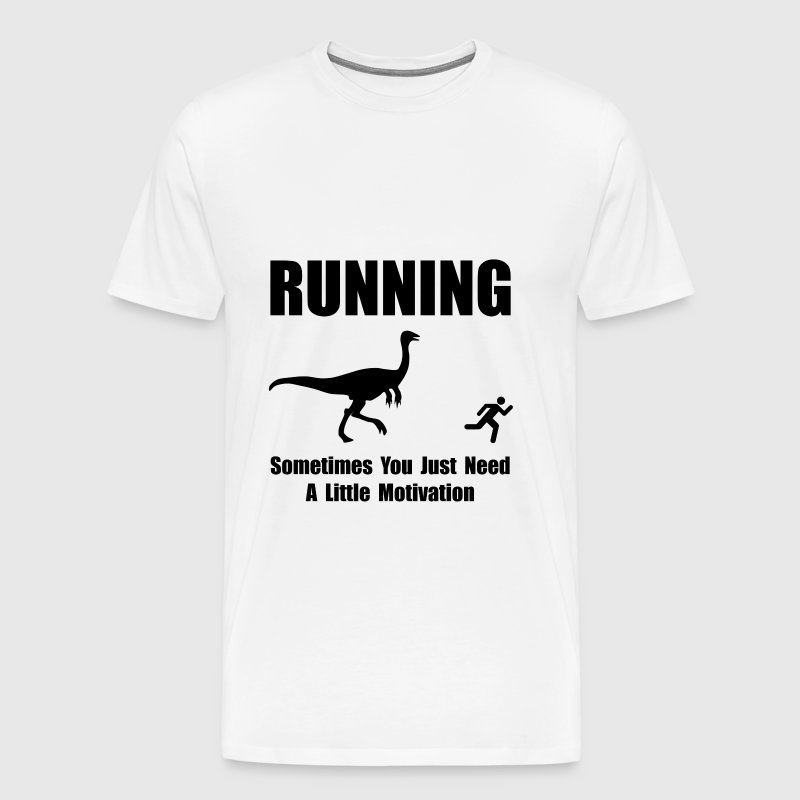 Running Motivation - Men's Premium T-Shirt
