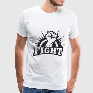 Fighting Fist - Men's Premium T-Shirt