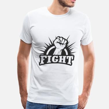 Fighting Fists Fighting Fist - Men's Premium T-Shirt