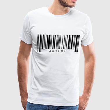Advert Barcode - Men's Premium T-Shirt