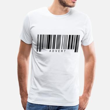 Advert Advert Barcode - Men's Premium T-Shirt