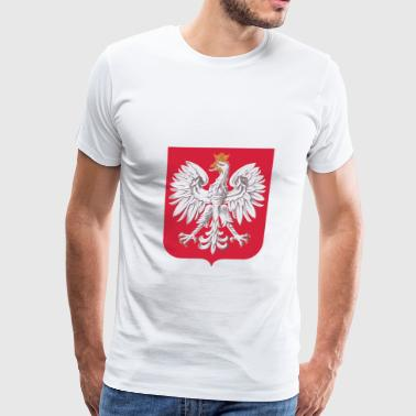 Polish Eagle Shield - Men's Premium T-Shirt