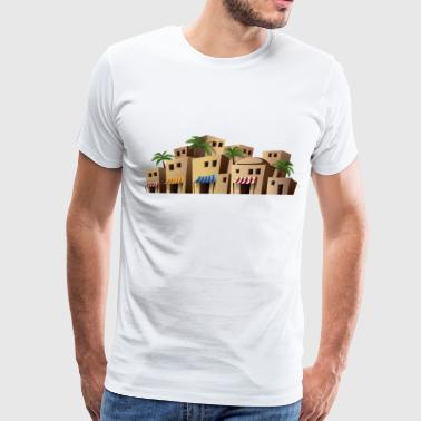 Holy Land jerusalem market - Men's Premium T-Shirt