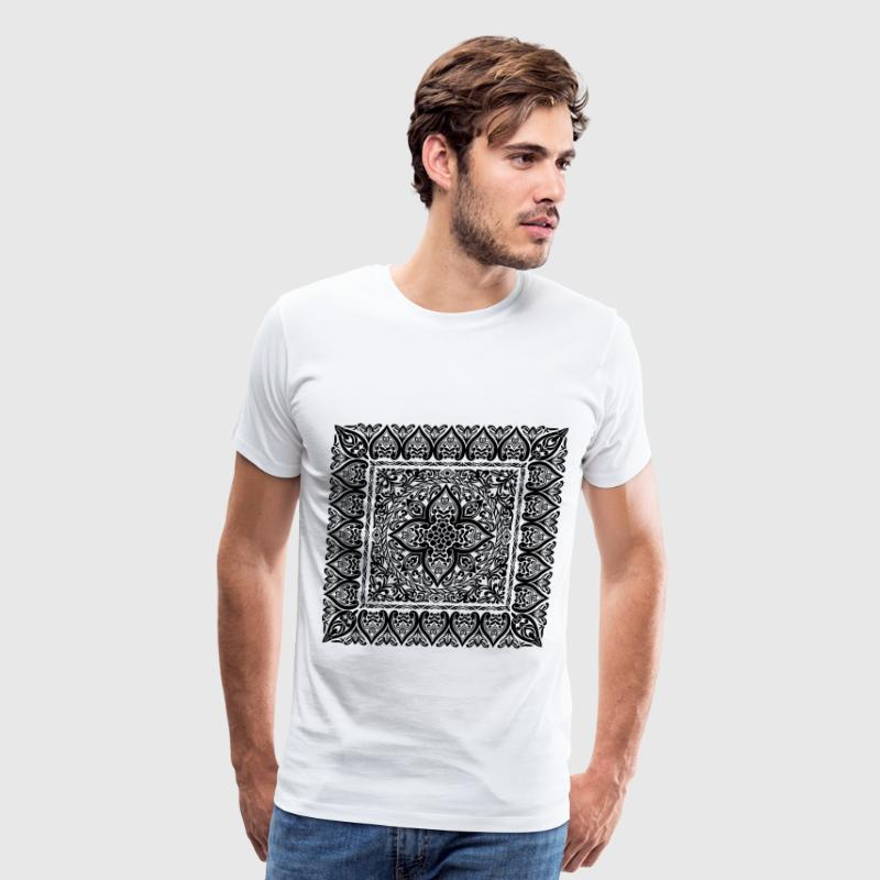 bohemian pattern - Men's Premium T-Shirt
