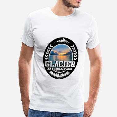 National Park GLACIER 2819212.png - Men's Premium T-Shirt