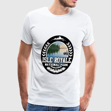 ISLE ROYALE 1267162712.png - Men's Premium T-Shirt