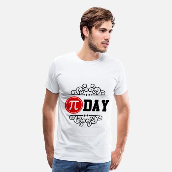 Pi Day T-Shirts - pi day 112.png - Men's Premium T-Shirt white