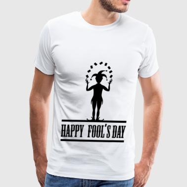 fools day 12.png - Men's Premium T-Shirt