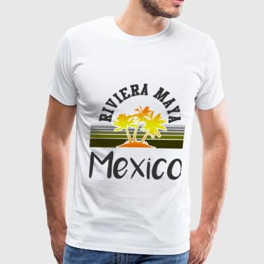 Riviera Maya may 129102.png - Men's Premium T-Shirt