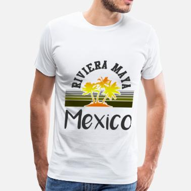 Riviera Maya Mexico may 129102.png - Men's Premium T-Shirt