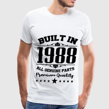 Made In 1988 1988 a.png - Men's Premium T-Shirt