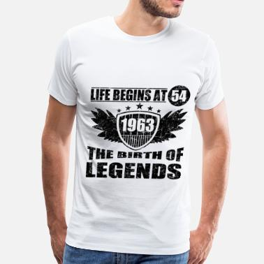 63 Birthday 63 a.png - Men's Premium T-Shirt