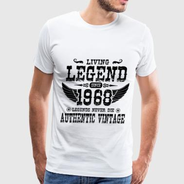 1968 a1.png - Men's Premium T-Shirt