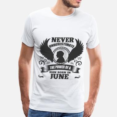 June Man JUNE MAN 1.png - Men's Premium T-Shirt