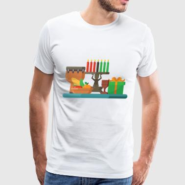 happy kwanzaa - Men's Premium T-Shirt