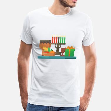 Happy Kwanzaa happy kwanzaa - Men's Premium T-Shirt