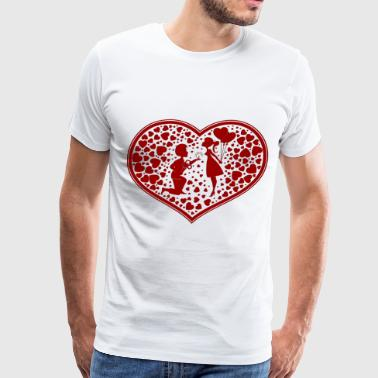 Valentine Day 12 - Men's Premium T-Shirt