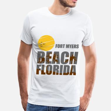 Fort Myers Beach FORT 1.png - Men's Premium T-Shirt