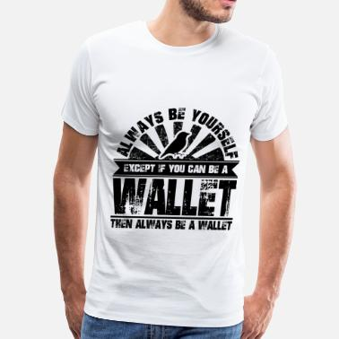 Animals With Guns wallet 1aaa.png - Men's Premium T-Shirt