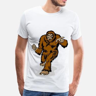Foot big foot - Men's Premium T-Shirt