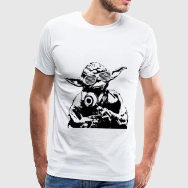 yoda dj - Men's Premium T-Shirt