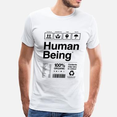 Human Human Being - Men's Premium T-Shirt