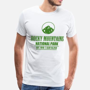 Rocky Mountains RK3.png - Men's Premium T-Shirt