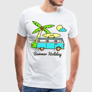 Combi Summer Holiday Combi - Men's Premium T-Shirt