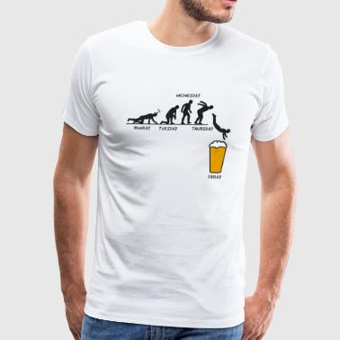 Beer Week funny craft beer design - Men's Premium T-Shirt