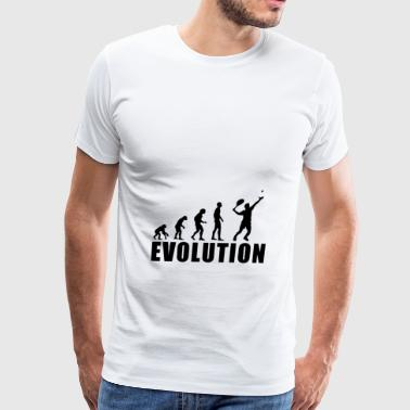 EVOLUTION TENNIS - Men's Premium T-Shirt