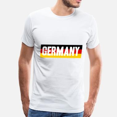 Football Fan Germany Soccer Football fan gift idea - Men's Premium T-Shirt
